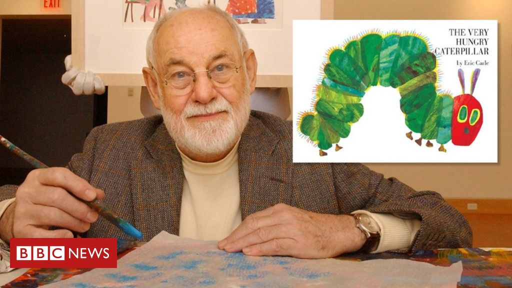 Eric Carle: Very Hungry Caterpillar author dies aged 91