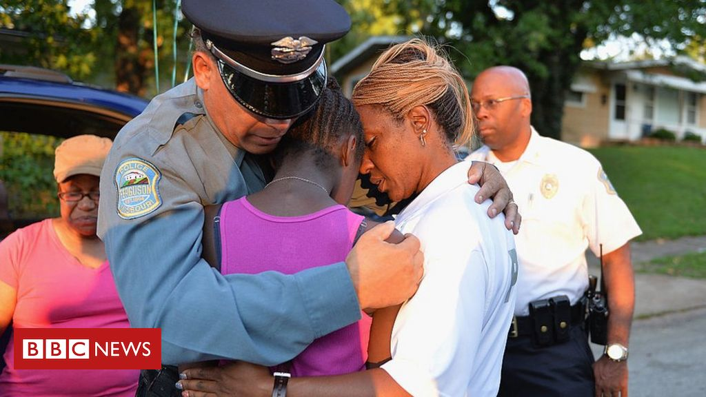 George Floyd death: How US police are trying to win back trust