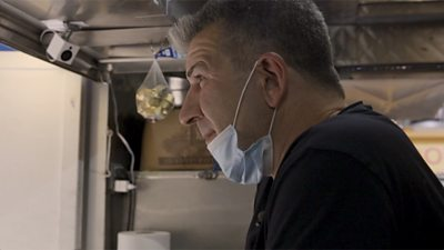 'This is NYC's rebirth' says food truck owner