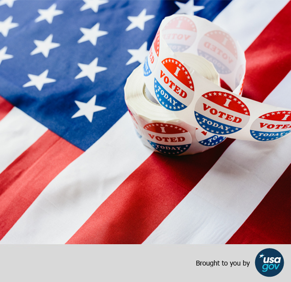USAGov Answers FAQs About Voting
