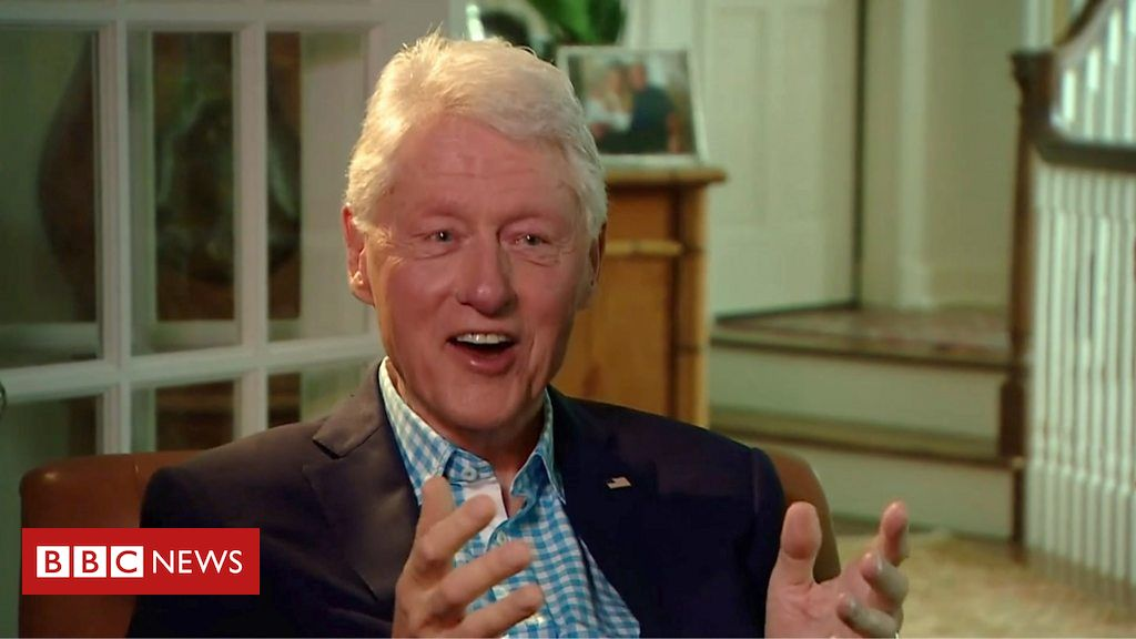 Bill Clinton on Covid, the Capitol and his new career
