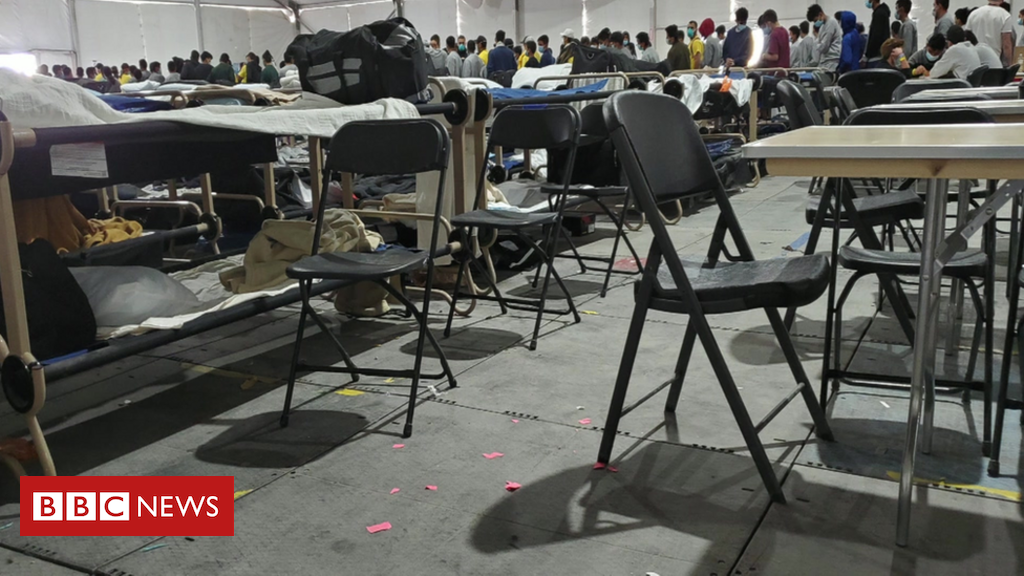 'Heartbreaking' conditions in US migrant child camp
