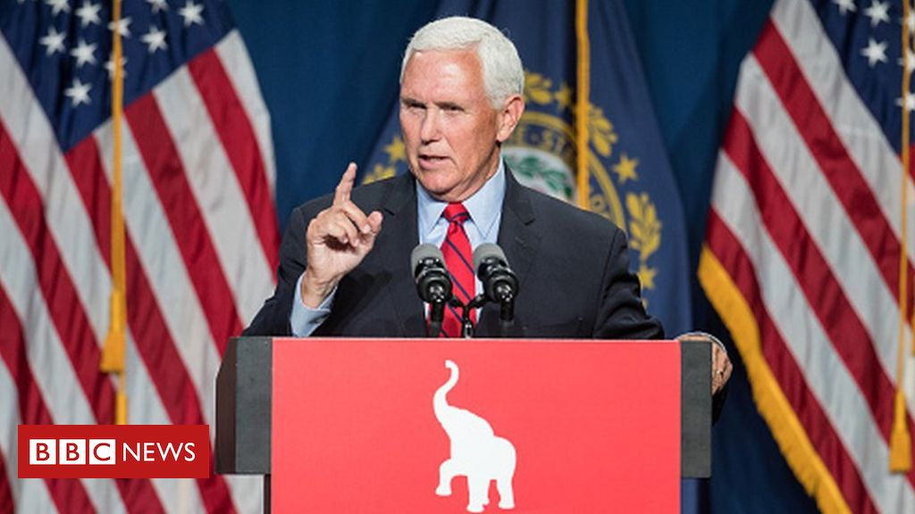 Mike Pence: Hecklers brand ex-VP 'traitor' at conservative conference