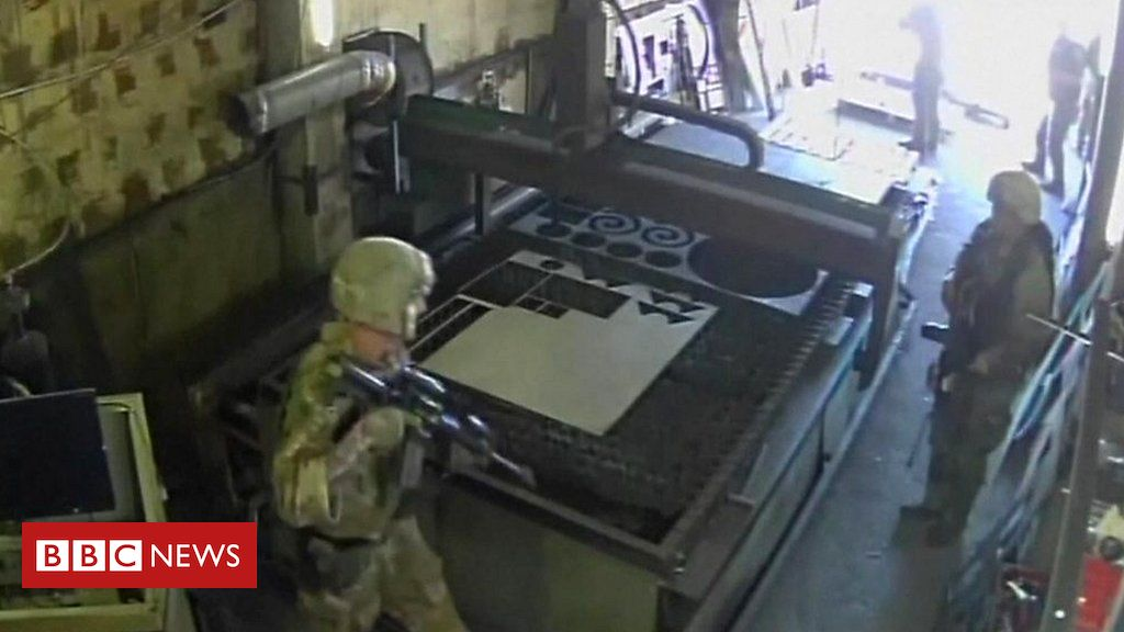 US troops accidentally raid sunflower oil factory