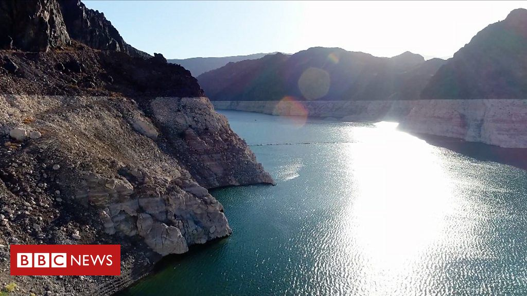 Why has the Hoover Dam hit an historically low water level?