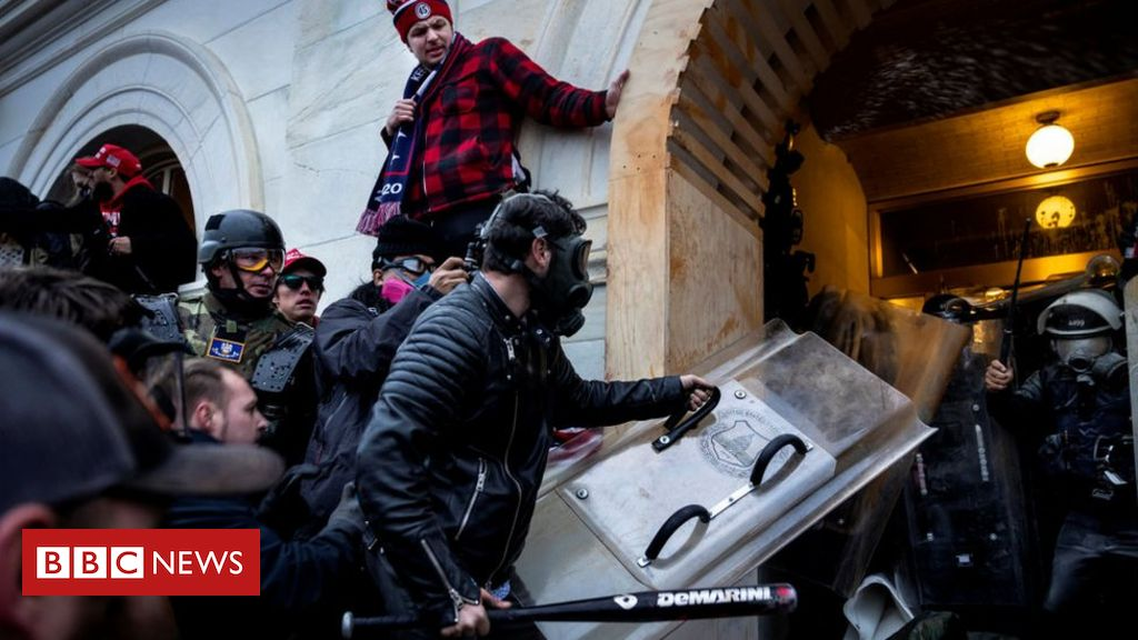 Capitol riots: New video released from FBI probe