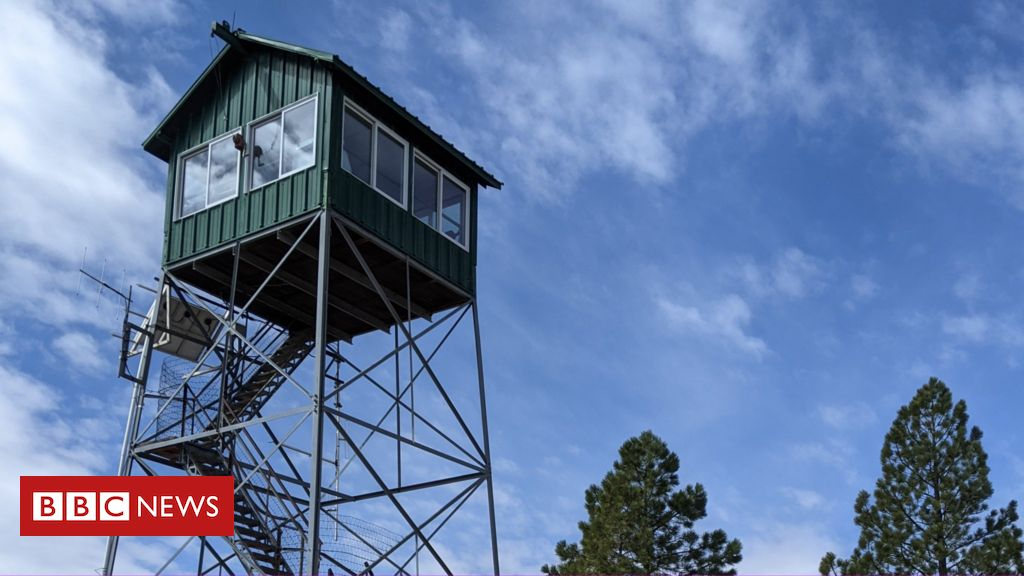 Fire lookouts: The US Forest Service lookouts watching for fires