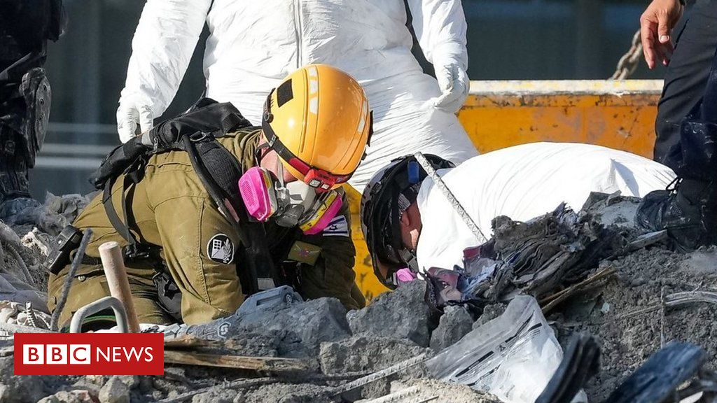 Miami building collapse: Inside the recovery operation clearing the ruins