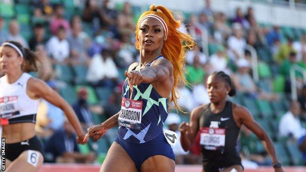 Tokyo 2020: US sprinter Sha'Carri Richardson set to miss Olympic Games after positive cannabis test