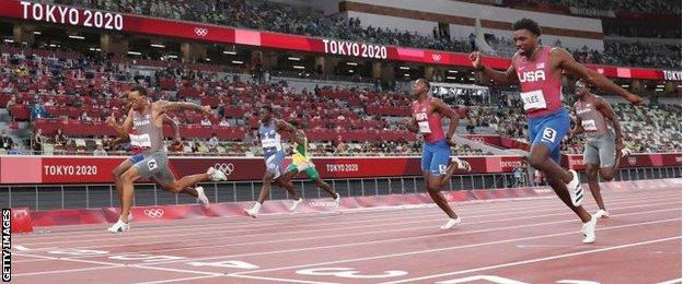 Tokyo Olympics: Andre de Grasse claims 200m gold