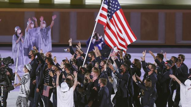 Beijing 2022: US athletes told they must be vaccinated against Covid-19