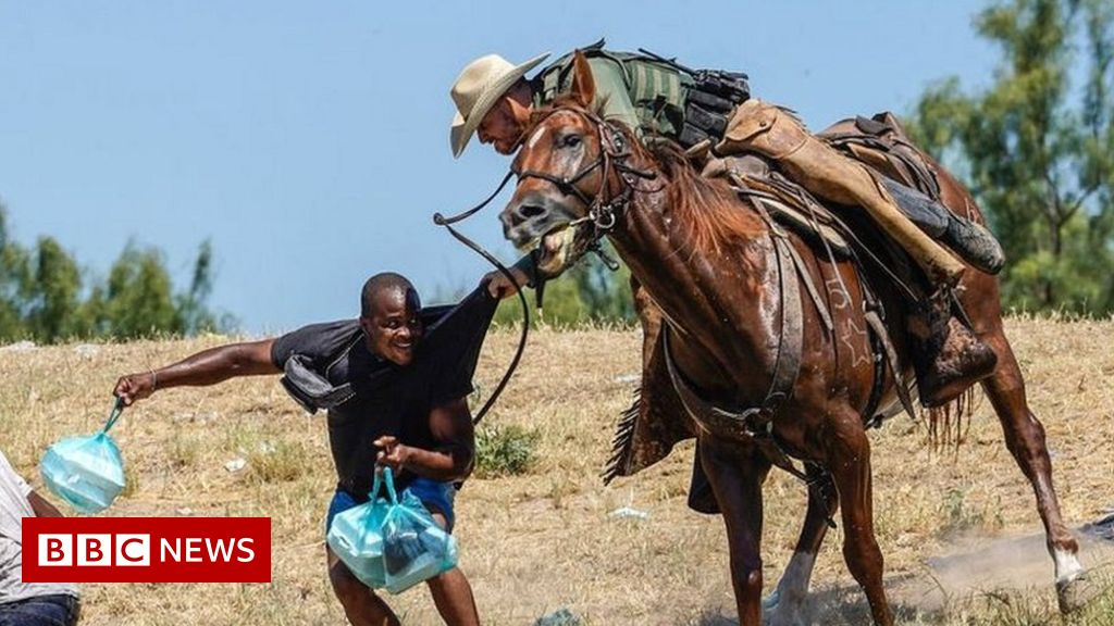 Grim echoes of history in images of Haitians at US-Mexico border