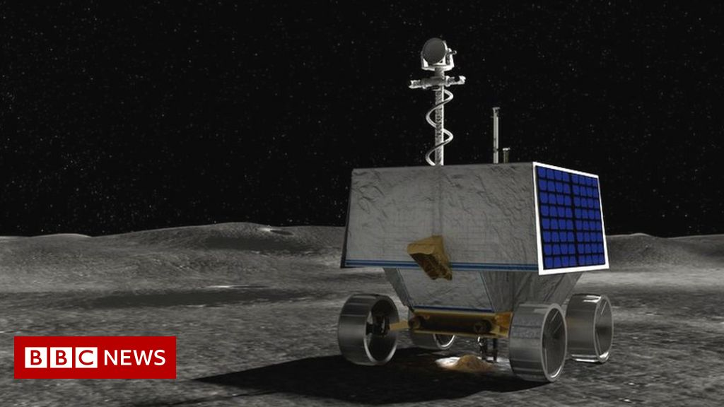 Nasa selects landing site for Moon rover mission