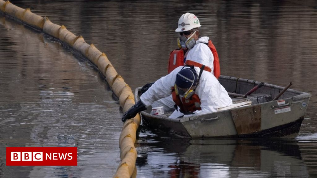 California oil: Search for cause in crude oil spill