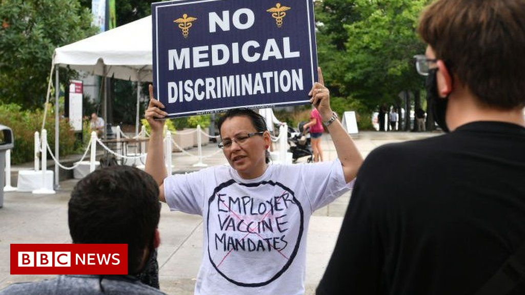 Covid vaccine: Why these US workers won't get jabbed