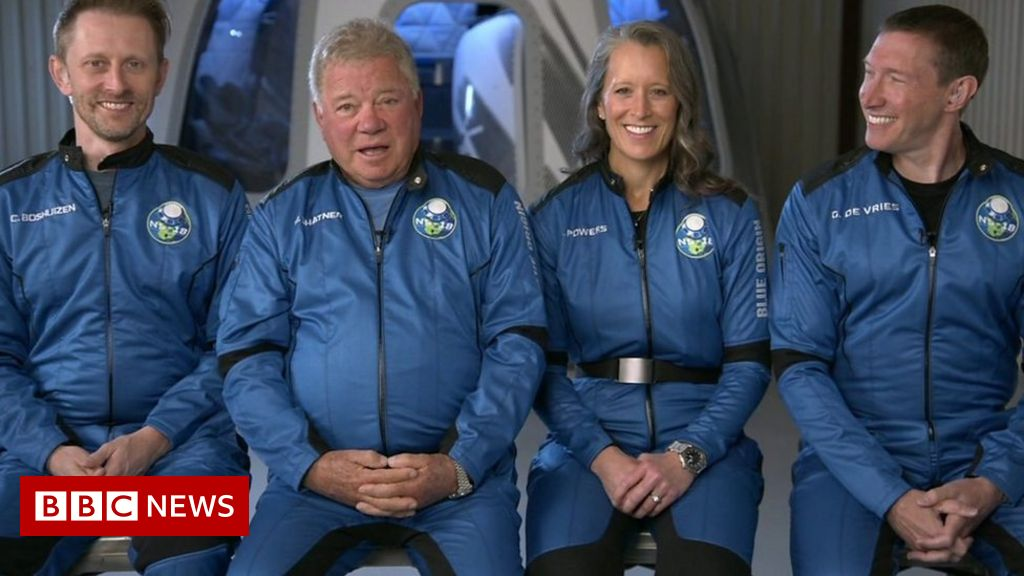 Star Trek's William Shatner on his plan to boldly go into space